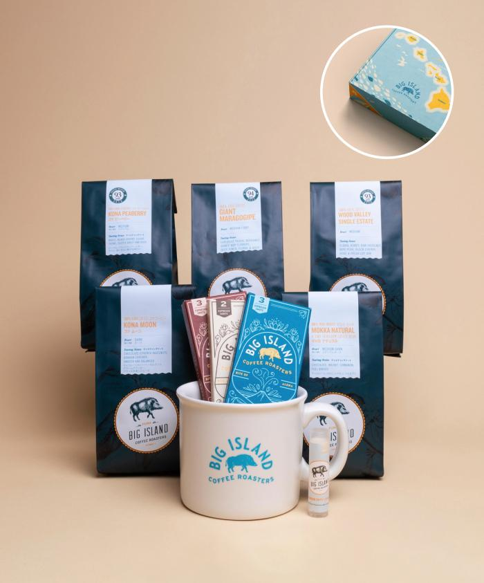 Hawaii coffee gift box