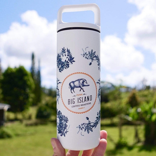Big Island Coffee Roasters Swag Big Island Coffee Traveler - 16 oz Big Island Coffee Travel Bottle | Miir 16oz Bottle | New Collection