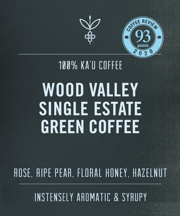 Wood Valley Single Estate green coffee