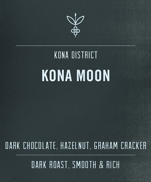 Dark roast low acid Kona coffee | 100% Kona Coffee