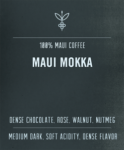Maui Mokka Coffee Info
