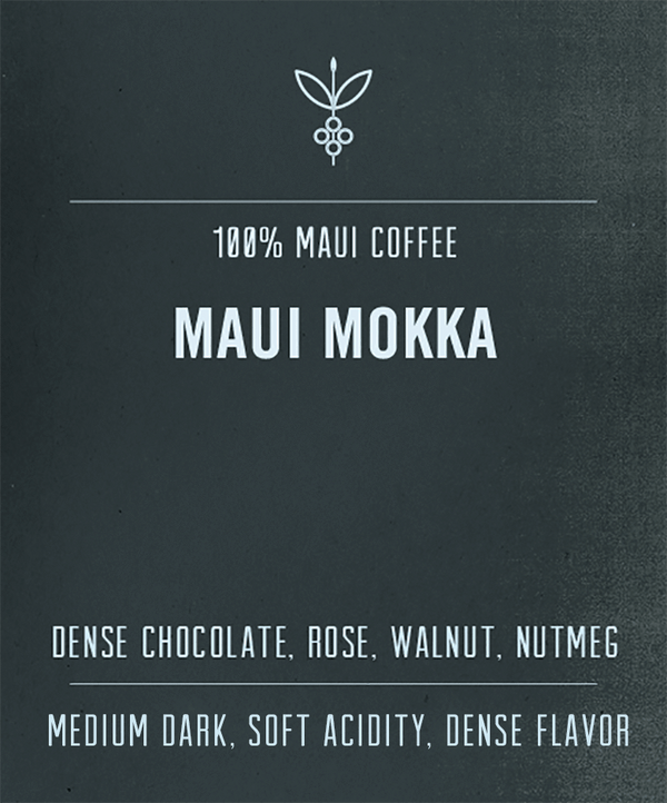 Maui Mokka Coffee Beans Hawaii