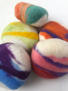 Felted Shea Butter Soap