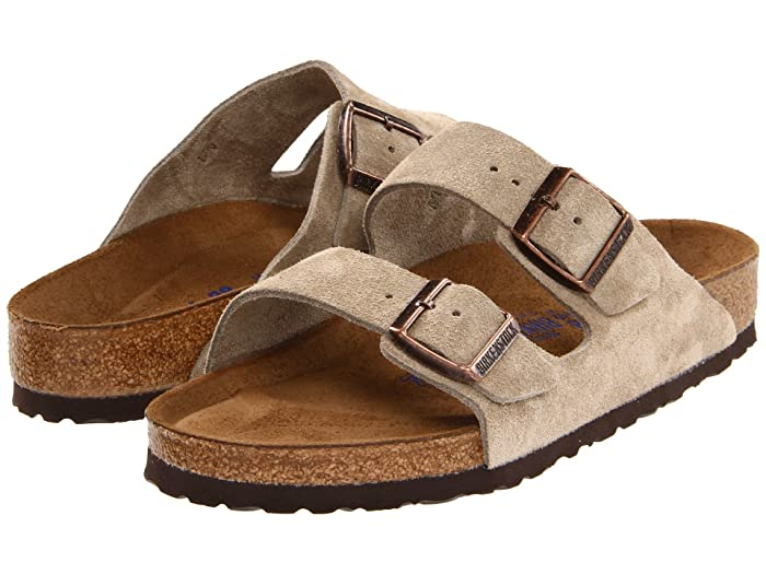Birkenstock Arizona Suede Soft Sole