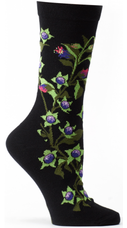 OZONE Witches Garden Belladona Socks