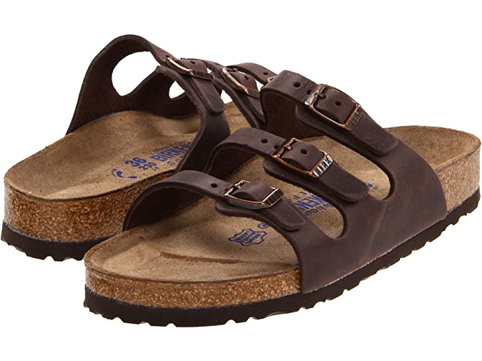 Birkenstock Florida Leather Soft Sole