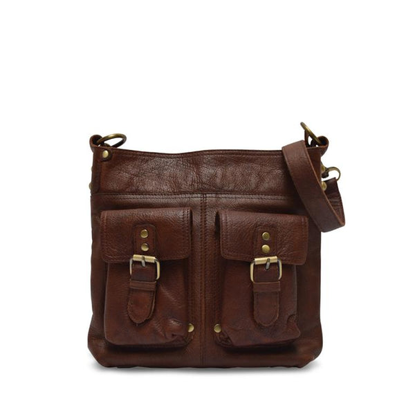 Anabaglish Joan Leather Crossbody Bag