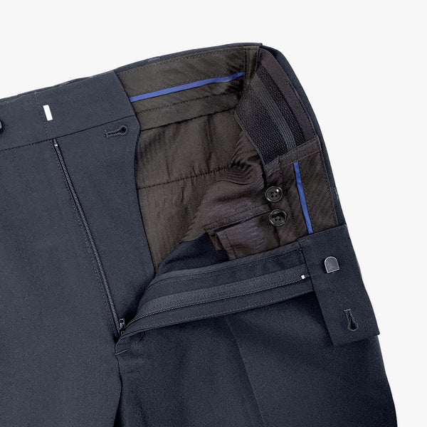 Regular fit business pant with Flexi-waist, French Navy