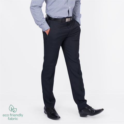 Slim fit business pant, French Navy