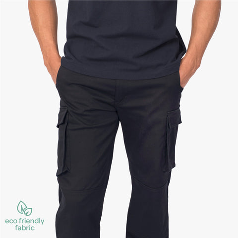 Men's chino cargo pant, French Navy