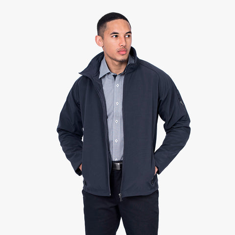Men's softshell jacket, Navy