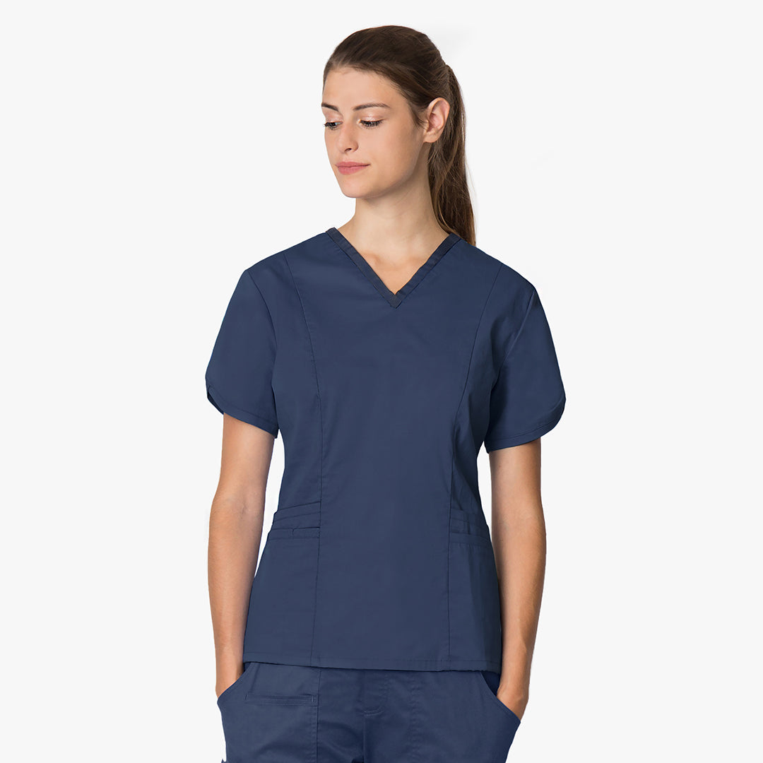 Women's scrubs top