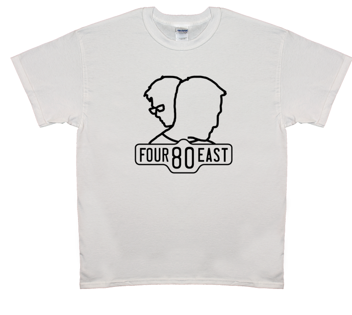 Logo w/ Heads Shirt - White