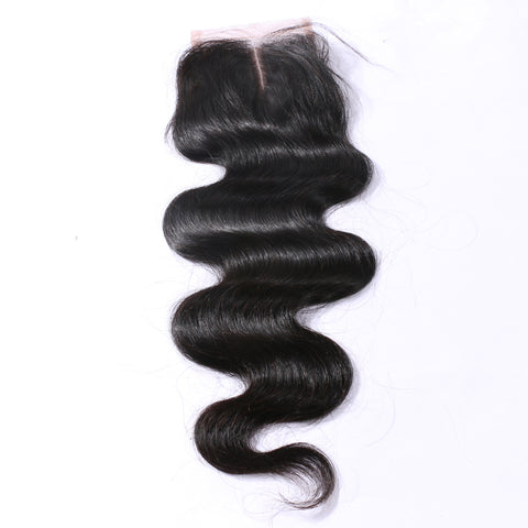 "Slnhair 4""x4"" Lace closure Virgin 10A Quality Body Wave Closures"