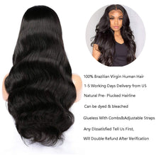 Load image into Gallery viewer, Selenehair 360 Lace Frontal Closure Straight With Baby Hair Remy 100% Human Hair