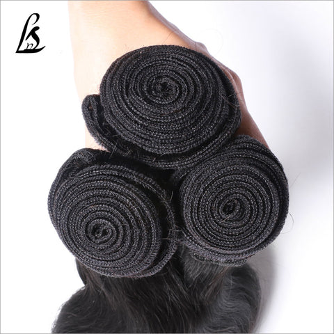 Image of Slnhair 10A Grade Brazilian Remy Quality Human Hair Body wave Bundles