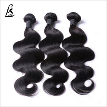 Load image into Gallery viewer, Slnhair 10A Grade Brazilian Remy Quality Human Hair Body wave Bundles