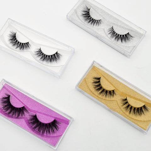 Image of Free shipping 3D mink long lasting mink lashes natural eyelashes extension false eyelashes