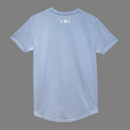 Drop Cut Blue Tee : Hemp