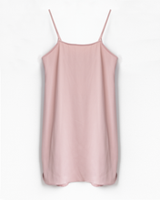 Satin Slip Dress - Misty Rose