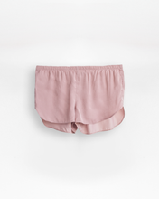 Satin Set Shorts - Dusty Pink