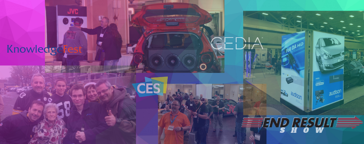 Consumer electronics show and Cedia home Technology and SEMA Automotive