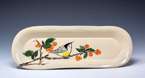 Hand Painted Serving Platter