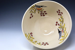 Hand Painted Serving Bowl