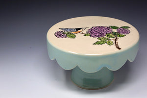 Hand Painted Cake Stand