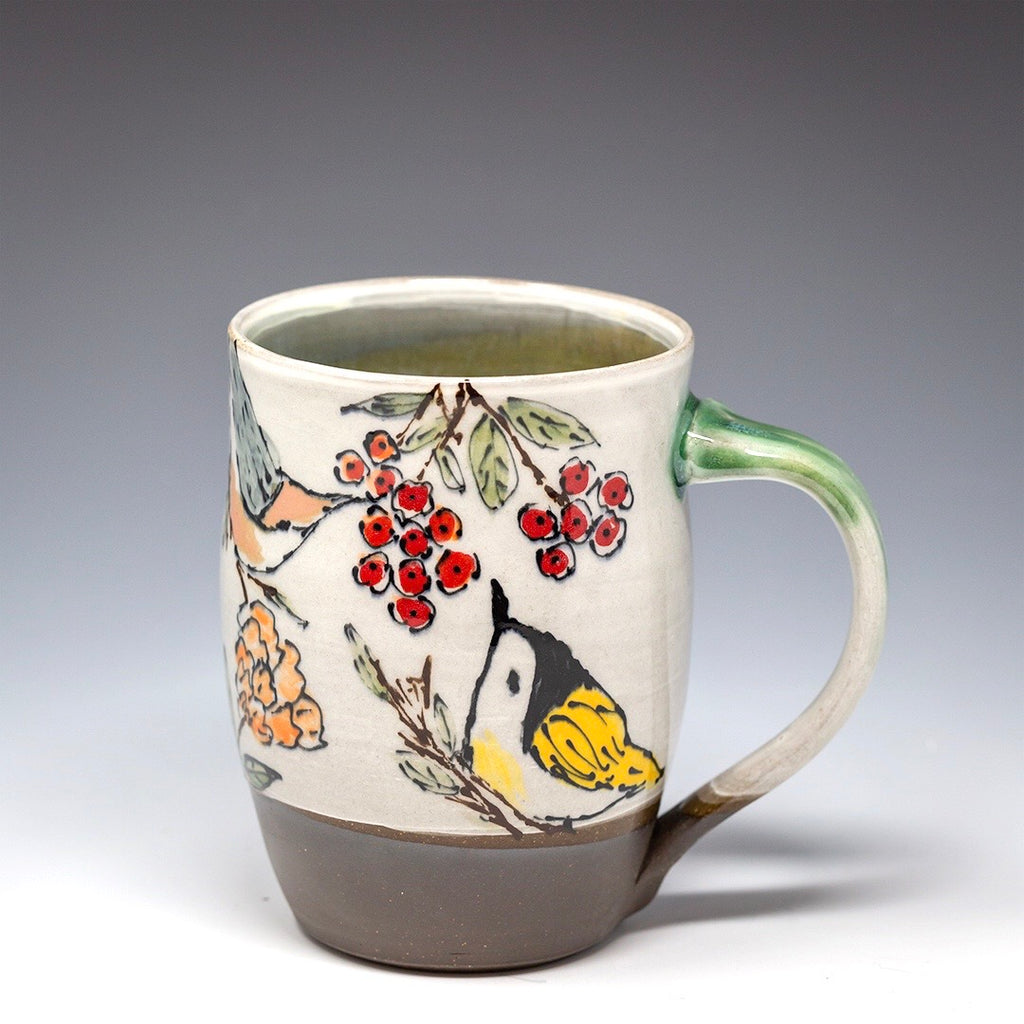 Hand Painted XL Mug