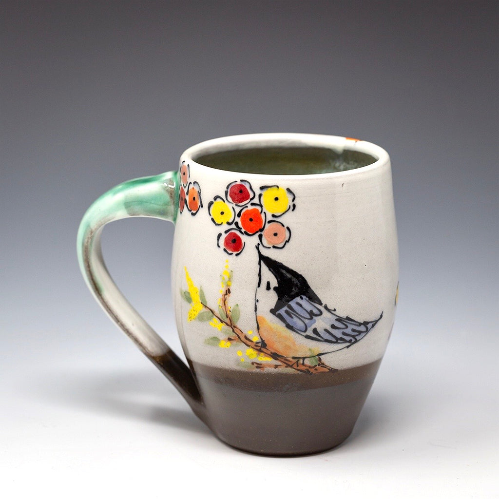 Hand Painted Whimsical Mug