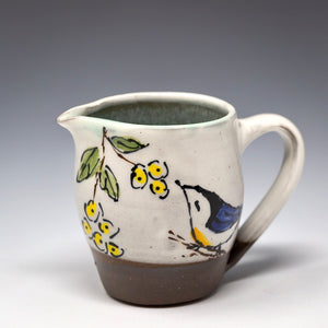 Hand Painted Creamer