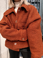 Ginger Curly Coat - Made to Order