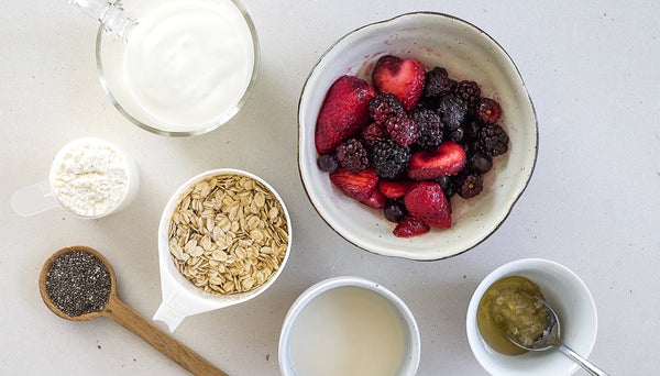 Spoonful of Sarah's overnight protein oats recipe