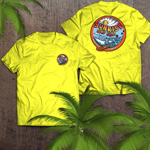 It's a surf Day - sunrise surf shop