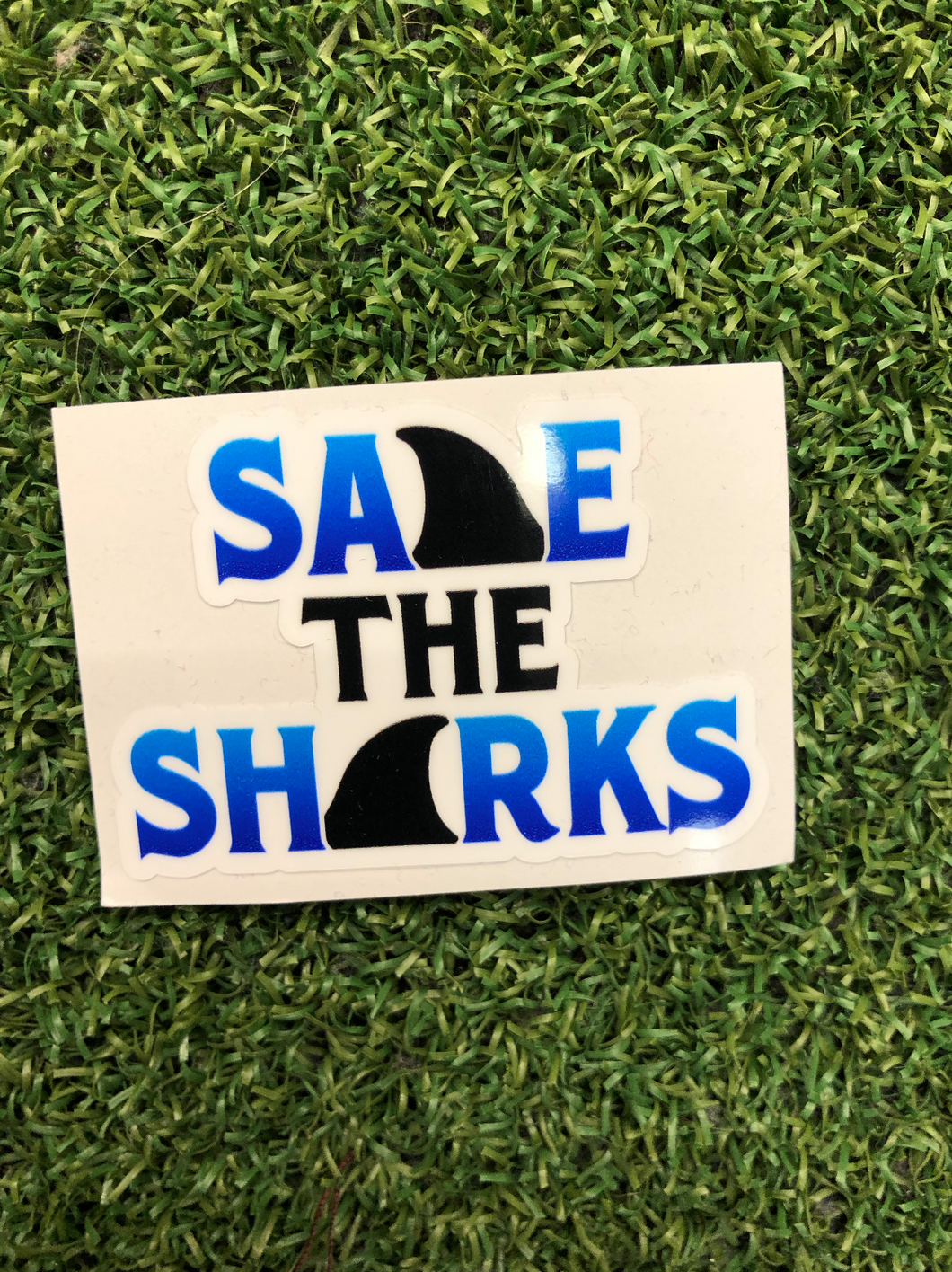 Save the Sharks 2 inches - sunrise surf shop