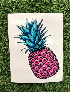 Pink pineapple 2 inches - sunrise surf shop