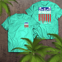 Load image into Gallery viewer, Palm Flag - sunrise surf shop