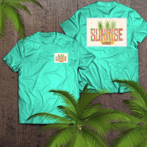 3 pineapples - sunrise surf shop