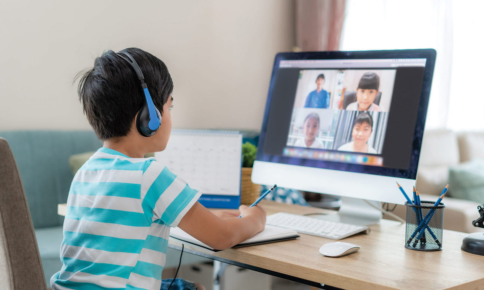 Helping Your Kids with Online Learning