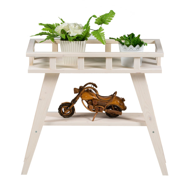 BLANCO FLORES SIDE TABLE