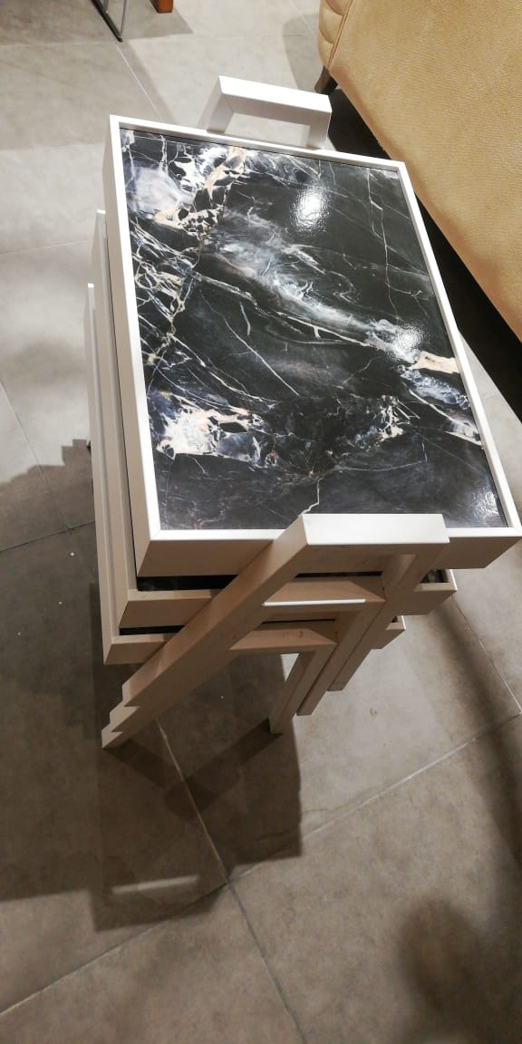 TEPSI MARBLE SIDE TABLE