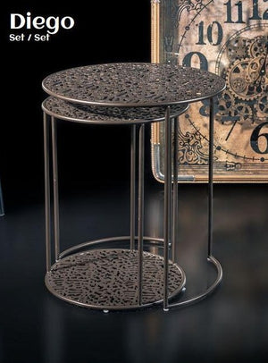 DIEGO SIDE TABLE SET OF 2