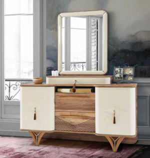 PANAMA DRESSER WITH MIRROR