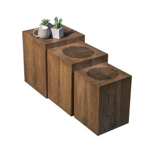 DANGER COFFEE TABLE SET OF 3