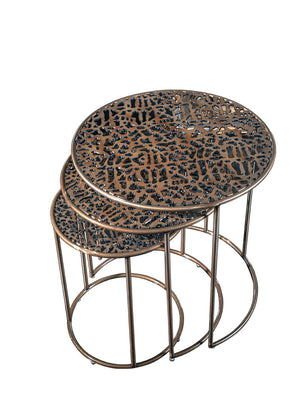 DIEGO SIDE TABLE SET OF 3