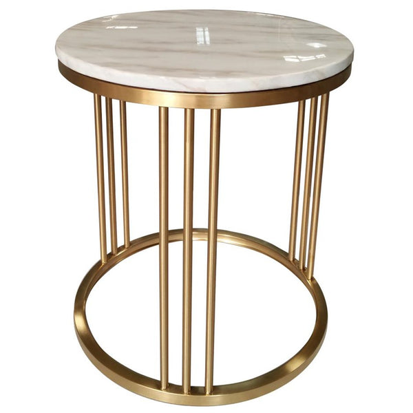 ADRIANA MARBLE SIDE TABLE