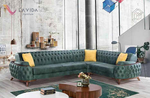FASHION GOLD SOFA, FASHION GOLD SOFA, La Vida Furniture