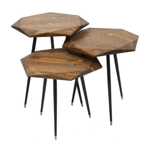VIRUS COFFEE TABLE SET OF 3