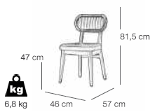 IGLO DINING CHAIR (261)
